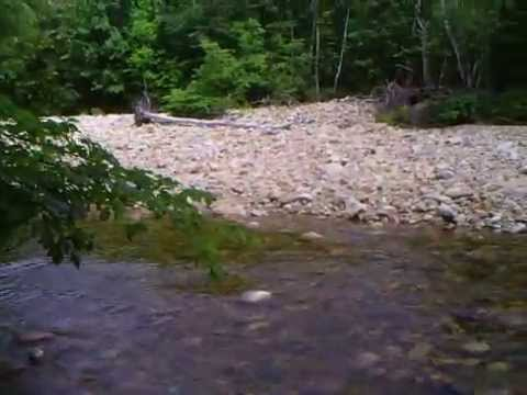 Saco River - Route 302 New Hampshire Bartlett - YouTube