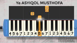 Ya Asyiqol Musthofa not Pianika