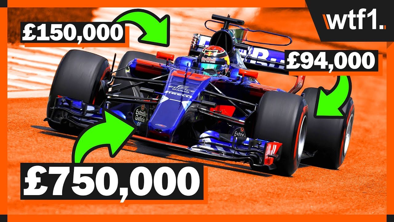 How Much Is An F1 Car Worth  YouTube
