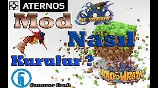 ATERNOSDAN MODLU SERVER NASIL AÇILIR ? | ATERNOS MODS !!! [HOW TO OPEN ATERNOS MODS SERVER ?]
