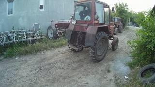 Ремонт гальм трактора т 25