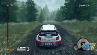 WRC 3 - FIA World Rally Championship 2012 - Wales Gameplay