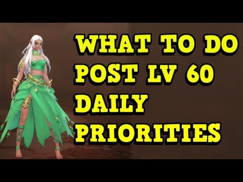 POST LV 60 GUIDE - Daily Priorities - World of Kings