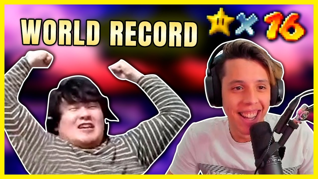 Cheese reacts to NEW 16 STAR WORLD RECORD! (14:58 by Kanno)
