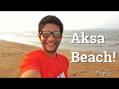 CLEANEST AND LONELIEST BEACH IN MUMBAI VLOG !