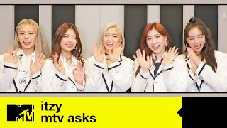 Download lagu ITZY Reveal What Makes Them Happy & How They Deal With Stress [ENG SUB]   MTV Asks