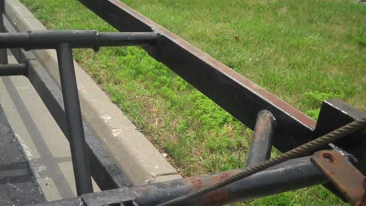 Pontoon Boat Trailer For Sale Trailer Has Been Sold Youtube