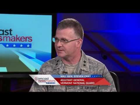 Adjutant General Steven Cray / Vermont National Guard