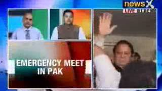 India vs Pakistan: Nawaz Sharif calls for an emergency meet in Pakistan