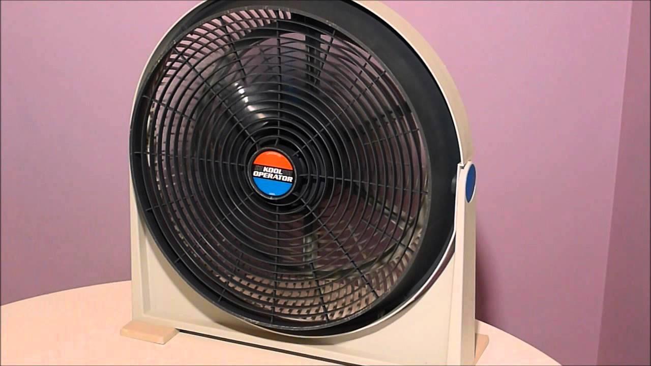 Lakewood Kool Operator 20 Quot Vintage Electric Fan Youtube
