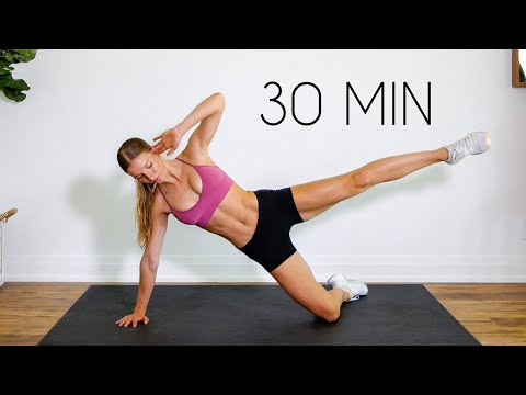 30 min Low Impact FULL BODY LIIT Workout (No Equipment + No Jumping)