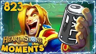 A Salty Walk Down Memory Lane | Hearthstone Daily Moments Ep.823