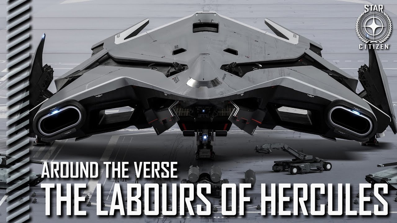 Introducing the Hercules - Crusader's premier tactical