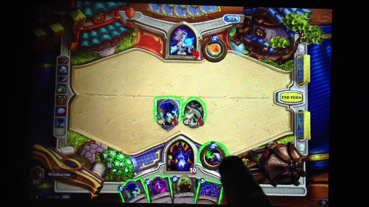HEARTHSTONE IPAD DISCONNECTS WHEN TRYING