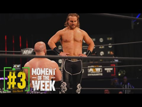 """Did Hangman Finally Say """"YES"""" to the Dark Order?   AEW Dynamite, 1/20/21"""