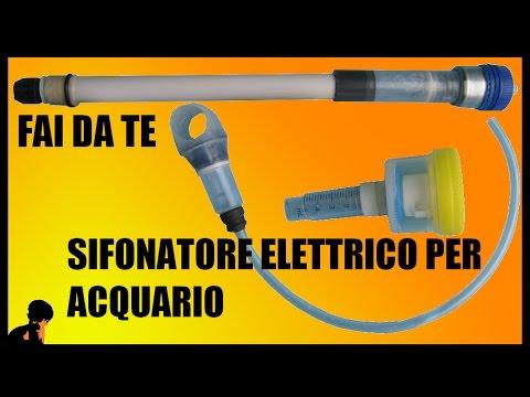 aspirarifiuti elettrico per acquario fai da te youtube