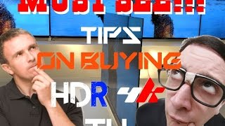 Xbot's BIGGEST tip on buying an HDR 4k TV!!!!