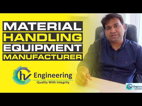 Material Handling Equipments: Conveyor System & Belt Conveyor   Manufacturers In Vadodara