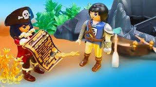 Приключения Супер 4. Игрушки обследуют остров в поисках клада. Видео для детей