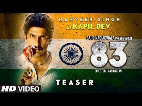 83 Movie Teaser   Ranveer Singh As Kapil Dev   Kabir Khan Deepika Padukone  83 First Look Mp3