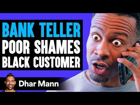 Bank Teller POOR SHAMES Black Customer, Instantly Regrets It   Dhar Mann