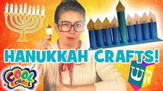 HANUKKAH CRAFTS!