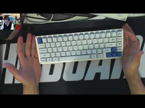 A Quick Look at The Whitefox Vera Keyboard with Hako Clears