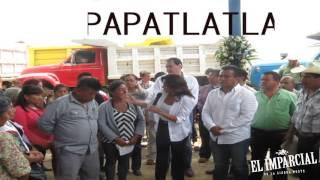 EL DIPUTADO CARLOS BARRAGÁN ENCABEZA GIRA DE APOYO EN LA SIERRA NORTE DE PUEBLA