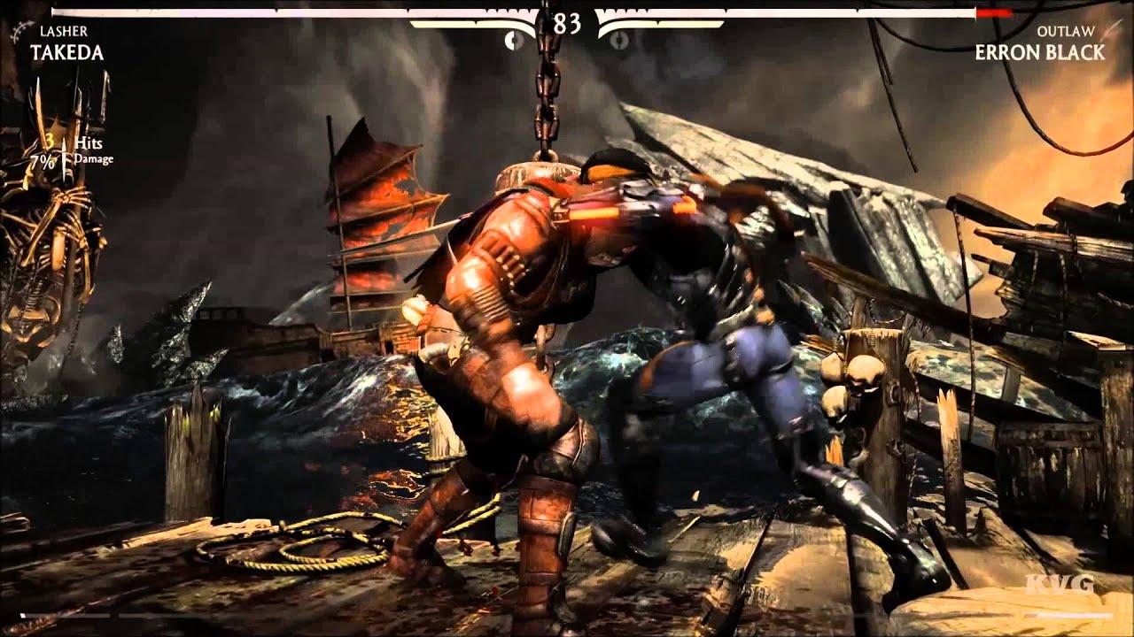 Mortal Kombat X Takeda Vs Erron Black Story Battle 27 Hd