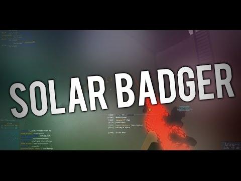 100 KILLS 1 GAME - THE SOLAR BADGER in ROBLOX PHANTOM FORCES! (Modded)