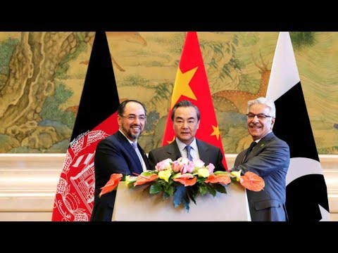 China, Afghanistan and Pakistan convene first trilateral dialogue