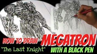 "Megatron The Last Knight ""Drawing"""