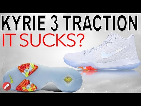 Nike Kyrie 3 Translucent Outsole Traction Update!