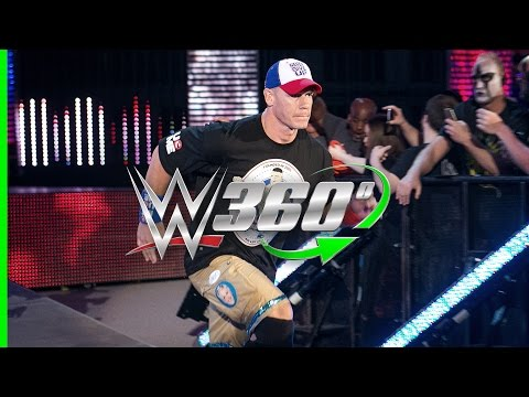 Experience the return of John Cena to WWE on Raw in 360°