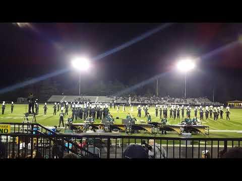 Sycamore High School Marching Band 10/20/17 Senior Night half time. Libra