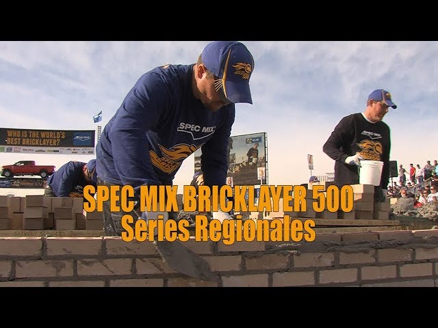 SPEC MIX BRICKLAYER 500 2017 SERIES REGIONALES
