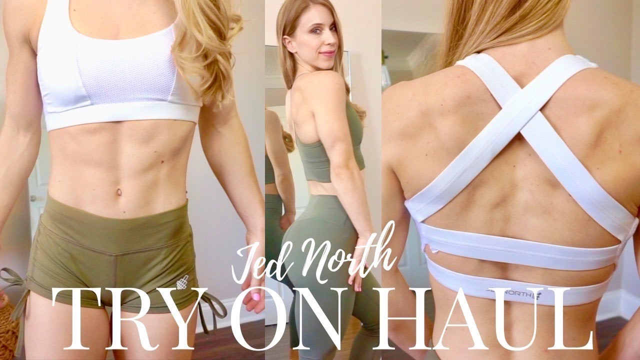 Jed North Leggings TRY ON Haul! + Bodybuilding Physique Update