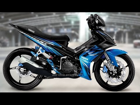 Motor Trend Modifikasi | Video Modifikasi Motor Yamaha Jupiter MX Simple Terbaru