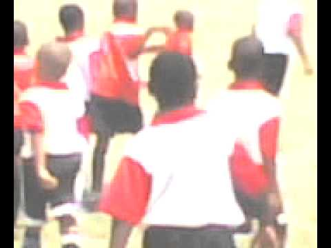 DOMINICA'S FUTURE FOOTBALL STARS IN TRAINING newtownjuvenilefotballacademyaction.3gp