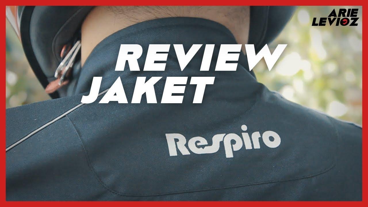 Respiro Jaket Motor Air Ventech R13 Black Daftar Harga Terbaru Rosela R1 Purple Harian Wanita Anti Angin Uk Xl Review