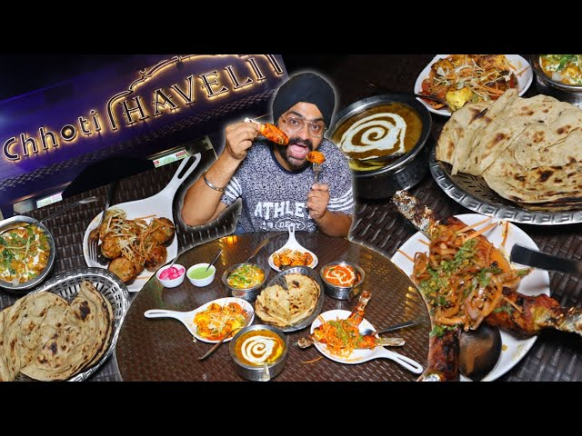 Chhoti Haveli now in Delhi | VEG breakfast, lunch & dinner