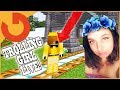 TROLLING GIRL GAMER WHILE SHE'S STREAMING! (Minecraft Trolling)