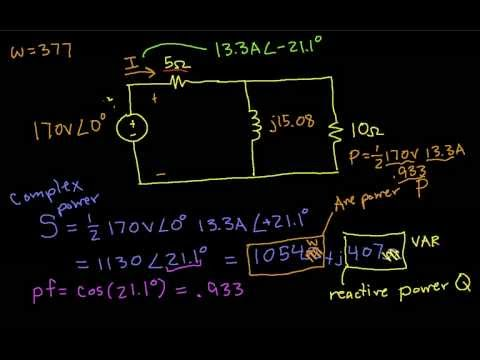 AC Example-Complex Power