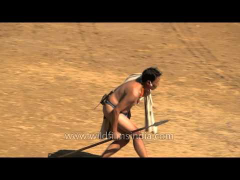 Skit presentation by Rengma tribe - A ritual for newly born baby from YouTube · Duration:  49 seconds