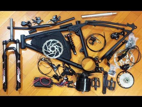 2.4kw Elite E MTB CKD Kit Without Battery, Wheels