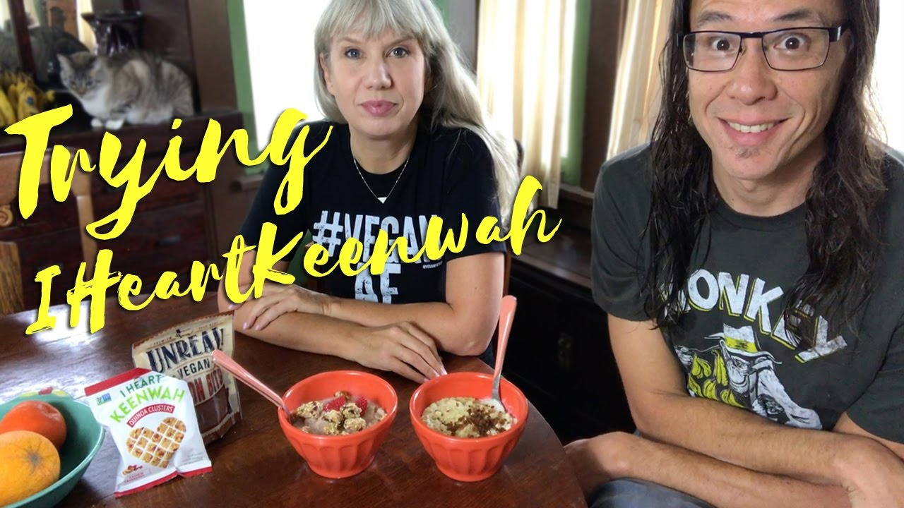 Trying I Heart Keenwah Hot Cereal 2 Ways: Review