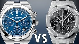 Audemars Piguet vs. Vacheron Constantin: Royal Oak vs Overseas: 26320ST v 5500V