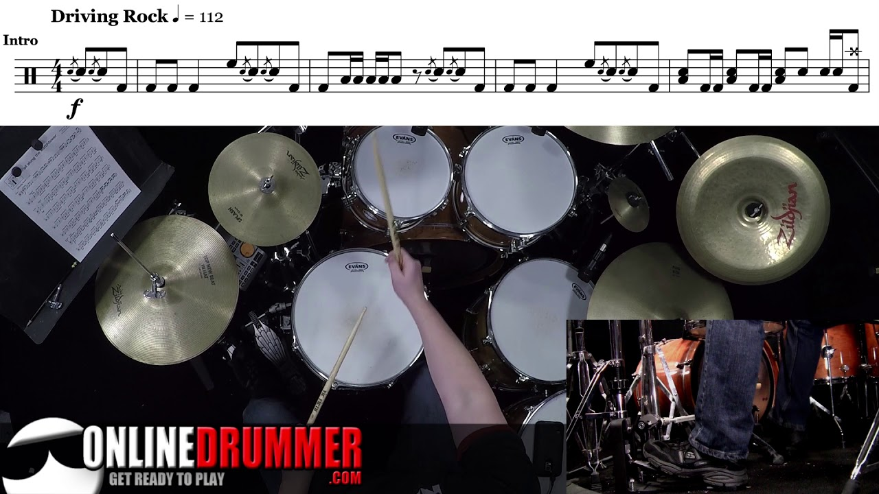 Intro To All Along The Watchtower Drum Lesson