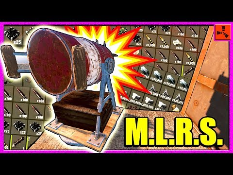 Rust ARTILLERY RAID?! - Rocket Raiding MASSIVE RICH Clan Base Exploit (Rust Modded Server Raids)