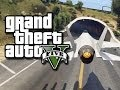 GTA 5 Online Stunts! - Flying Jets Through Tunnels! #2 (GTA V Fails and Funny Moments!)